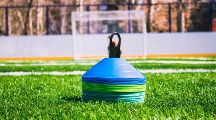 cones to prepare training