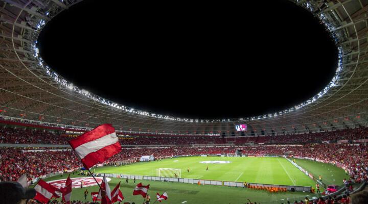 rounded stadium