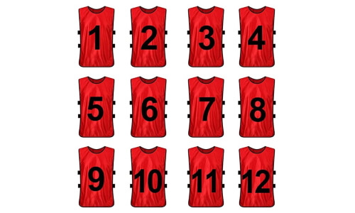 TOPTIE Sets of 12 Numbered